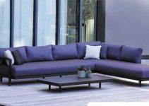 Elegante sofá de 6 plazas
