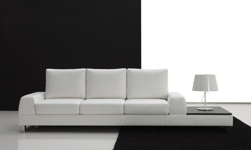 Oferta de sofá de cuero grande