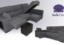 Sofá 3 plazas con asientos extraíbles grande