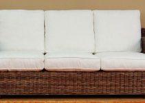 Sofá 3 plazas grande de cubierta de tela