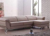 Sofá 3 plazas tapizado en piel