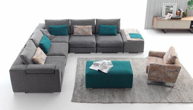 Sof s grandes de 5 plazas for Sofa 5 plazas medidas