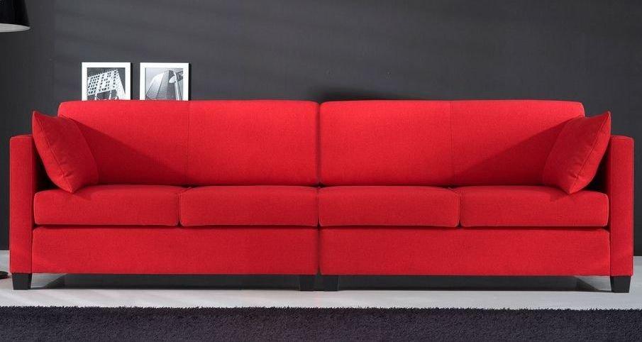 sof cama en piel tama o grande im genes y fotos