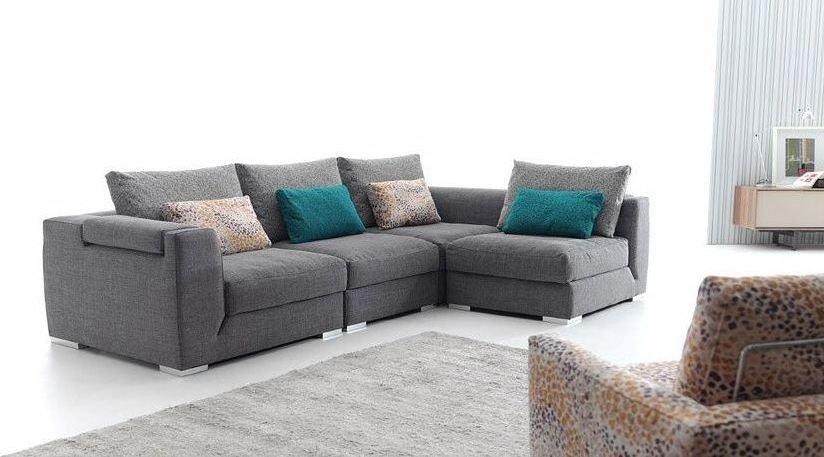 Sofá de aluminio moderno grande