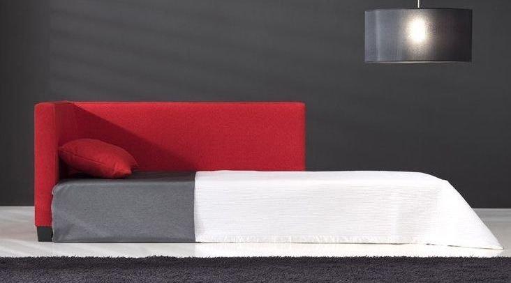 Sofá de diseño 4 plazas con apertura lateral