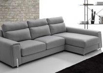 Sofá de diseño grande y de tela