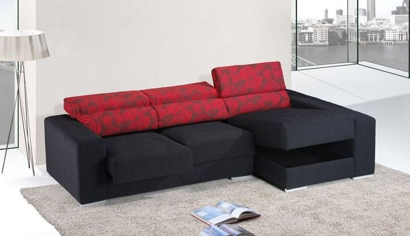 Sofá de madera grande y barato
