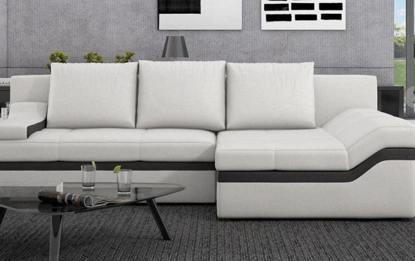 Sofá de piel grande barato