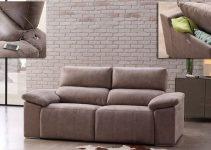 Sofá de tela grande  con Chaise Longue