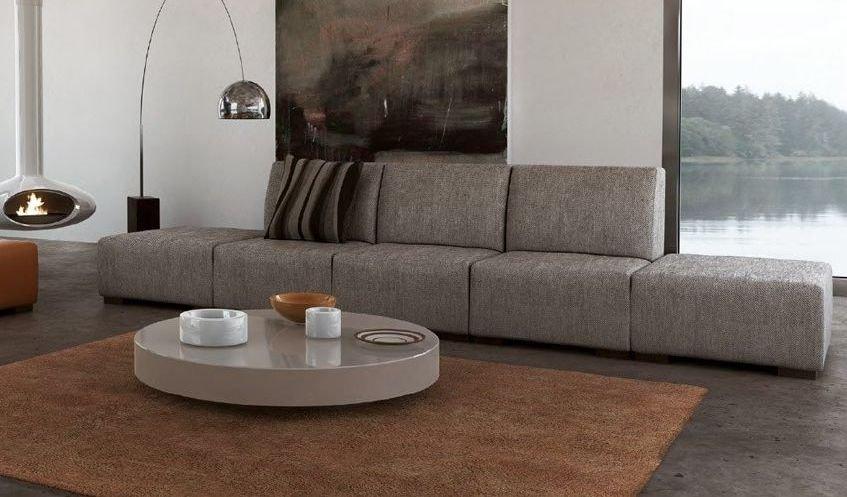 Sofá elegante y de tamaño XXL