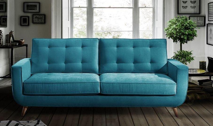 Sofá tapizado en tela económico