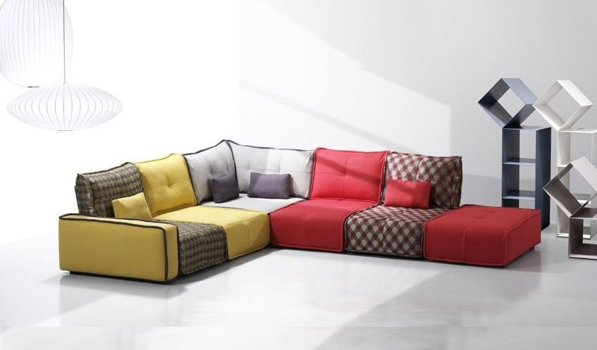 Sofá vintage de 7 plazas