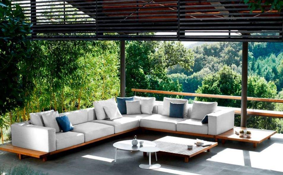 Sof s xxl for Sofa de madera para terraza