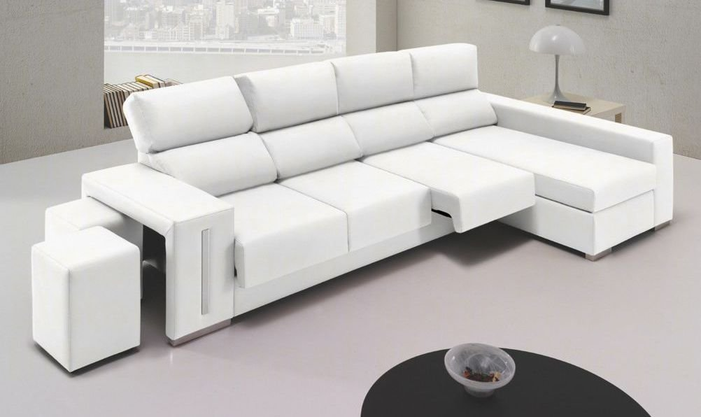 Sof s grandes de 4 plazas for Sofa 4 plazas mas chaise longue
