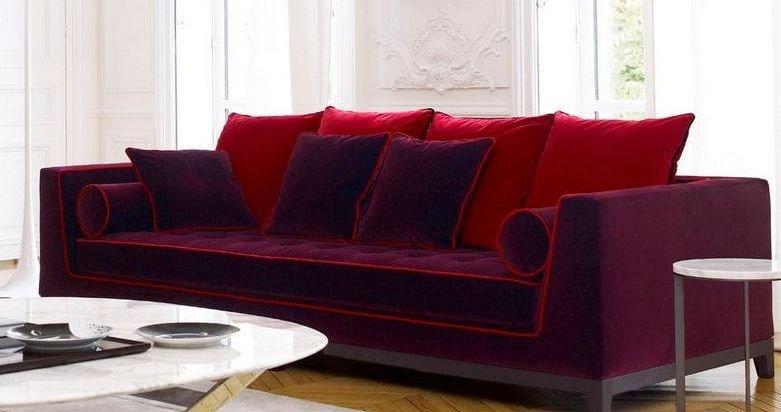 Venta de sofá de tela grande